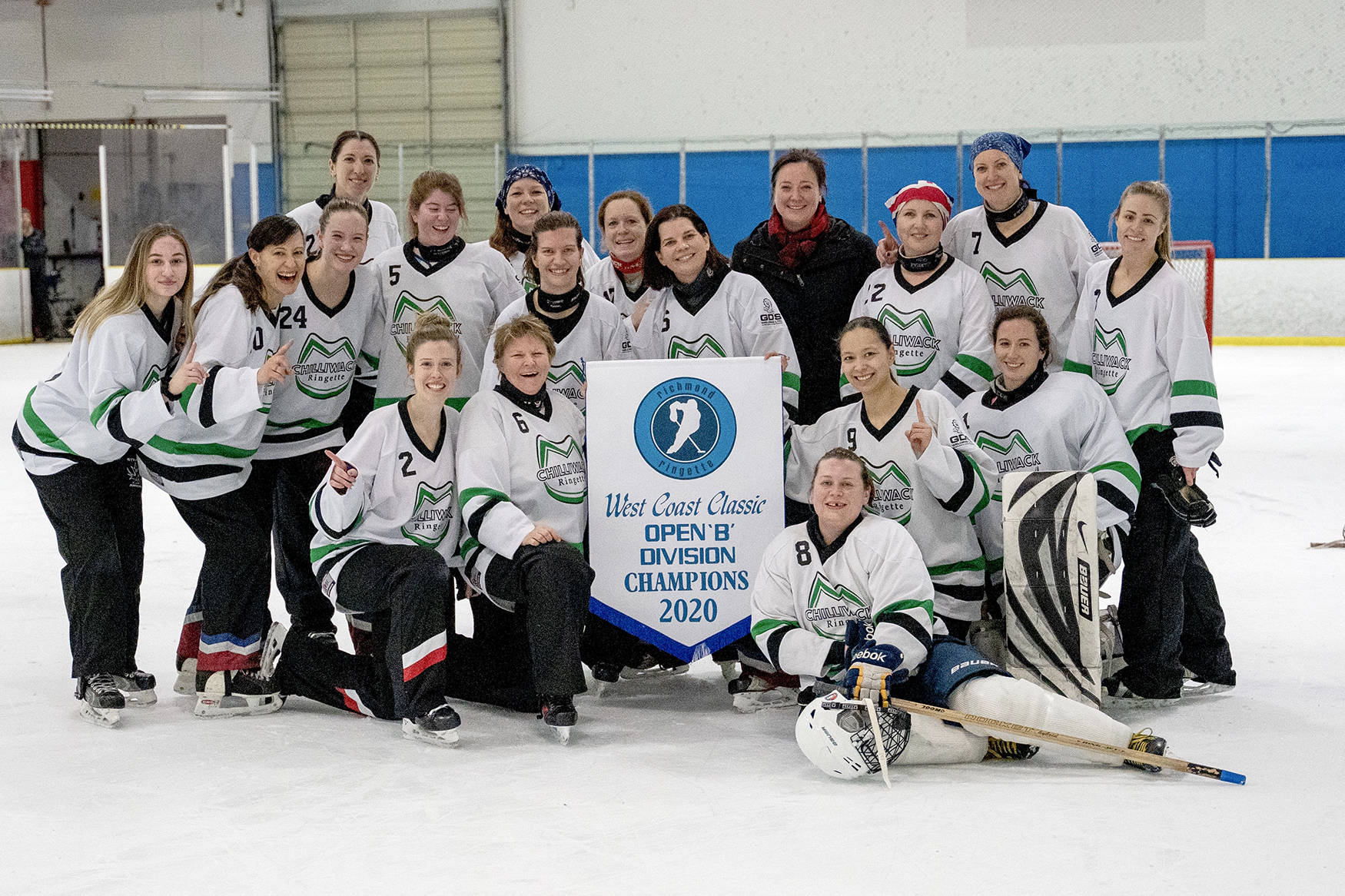 Chilliwack ringette club earns historic win at Richmond's West Coast Classic