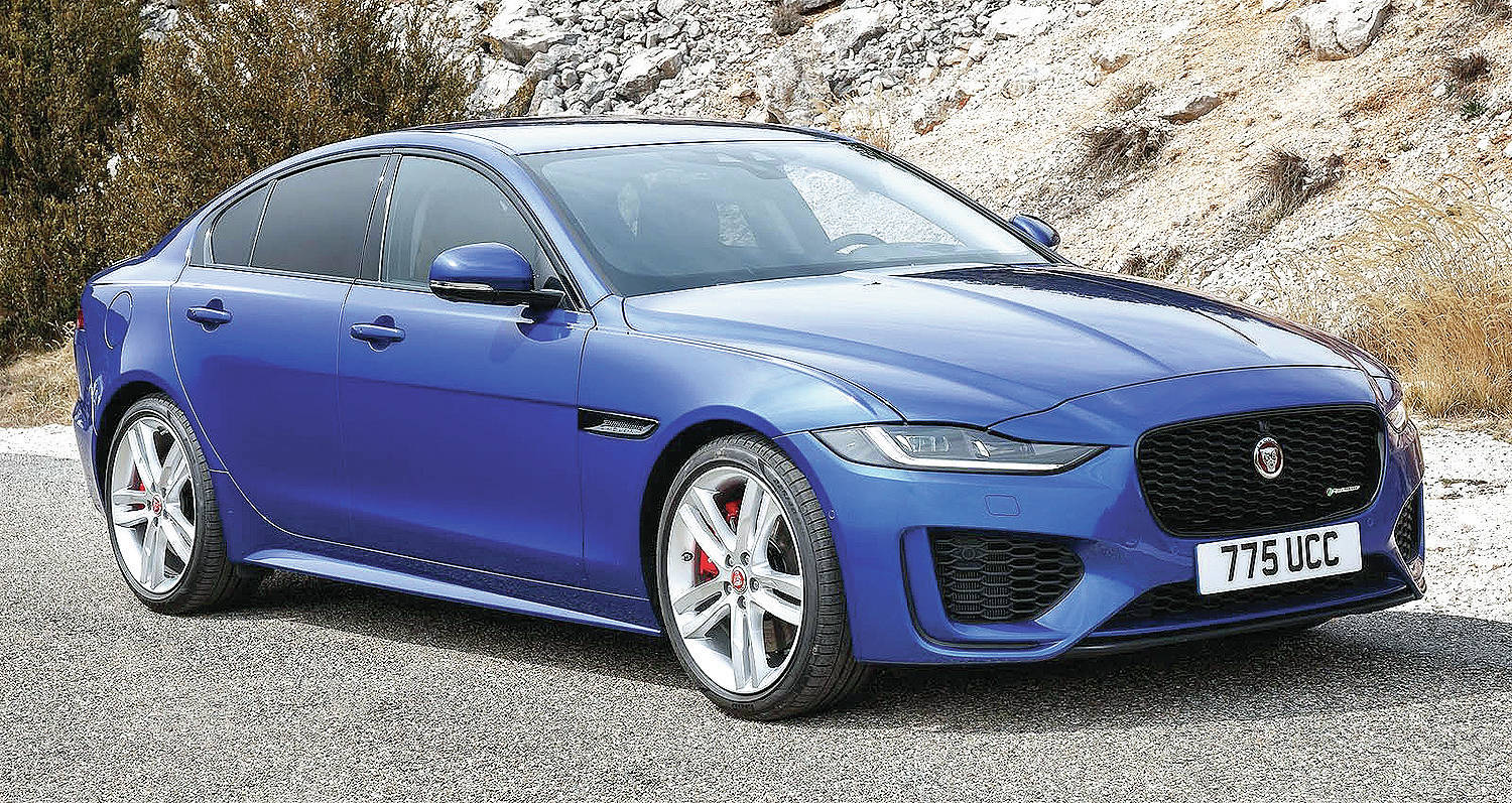 The Jaguar XE compact sedan is being cancelled and without a replacement. PHOTO: JAGUAR
