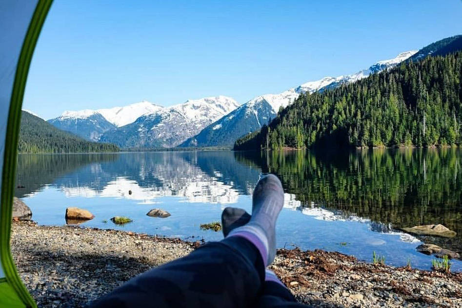 As of April 23, B.C. residents will not be able to book accommodations or a camping site outside of their local health region, in an effort to slow the spread of COVID-19. Whistler BC, by Courtney & Colin Adams. Amateur Photographer of the Year entry