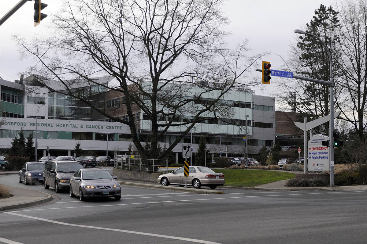 Chilliwack volunteer drivers are needed to help get cancer patients back and forth to Abbotsford (shown here), Surrey and Vancouver cancer clinics. (Abbotsford News file photo)