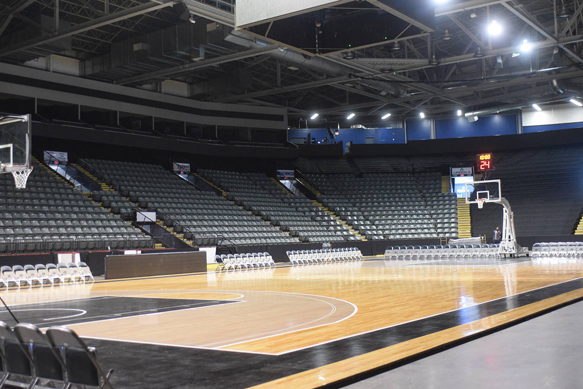 The Fraser Valley Bandits may be looking for a new home arena for 2022 after a deal with the Canucks has not yet been finalized. (Ben Lypka/Abbotsford News)