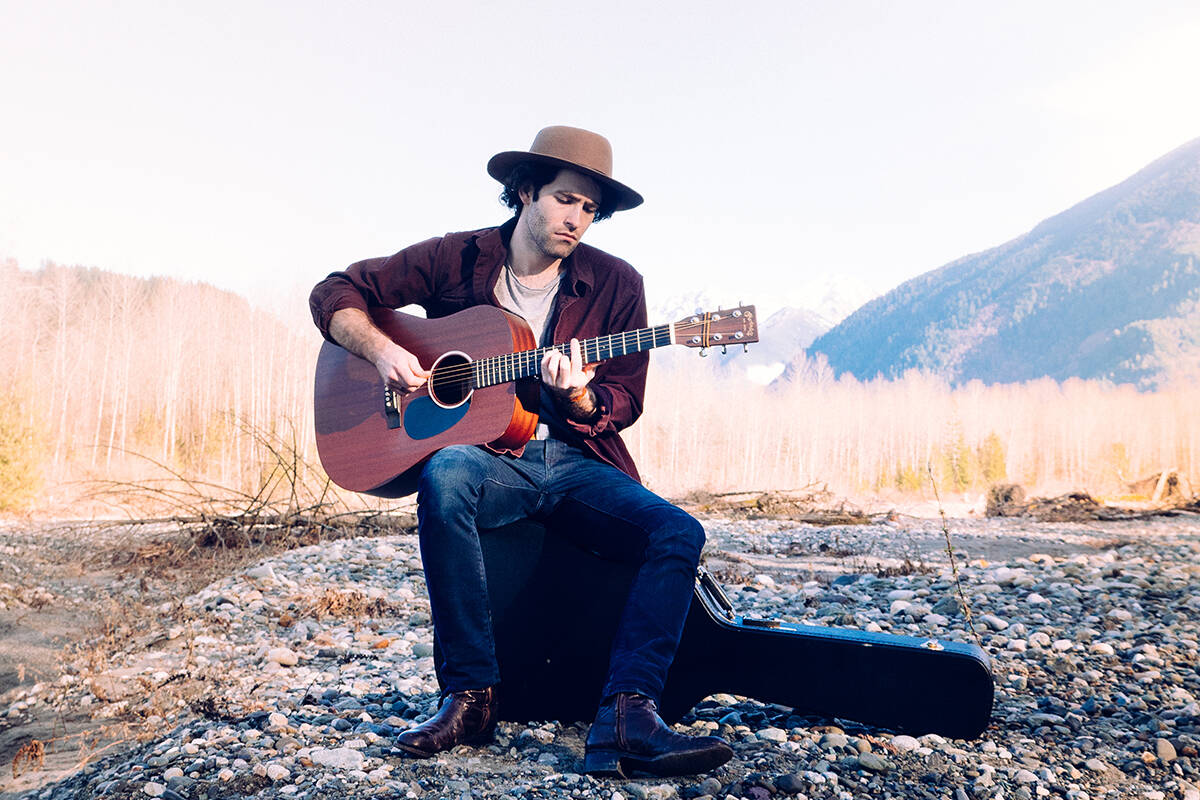 Ben Cottrill performs with The Crescent Sky on Sept. 11 at an album release party and concert.