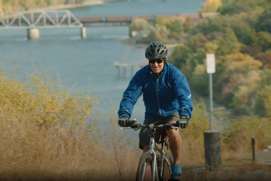 Randy Gregory logged his bike rides around Kamloops for GoByBikeBC, and won a free cycling trip to the Baltics! This year's GoByBikeBC is Sep. 27 to Oct. 10, and you can win a cycling trip to France.