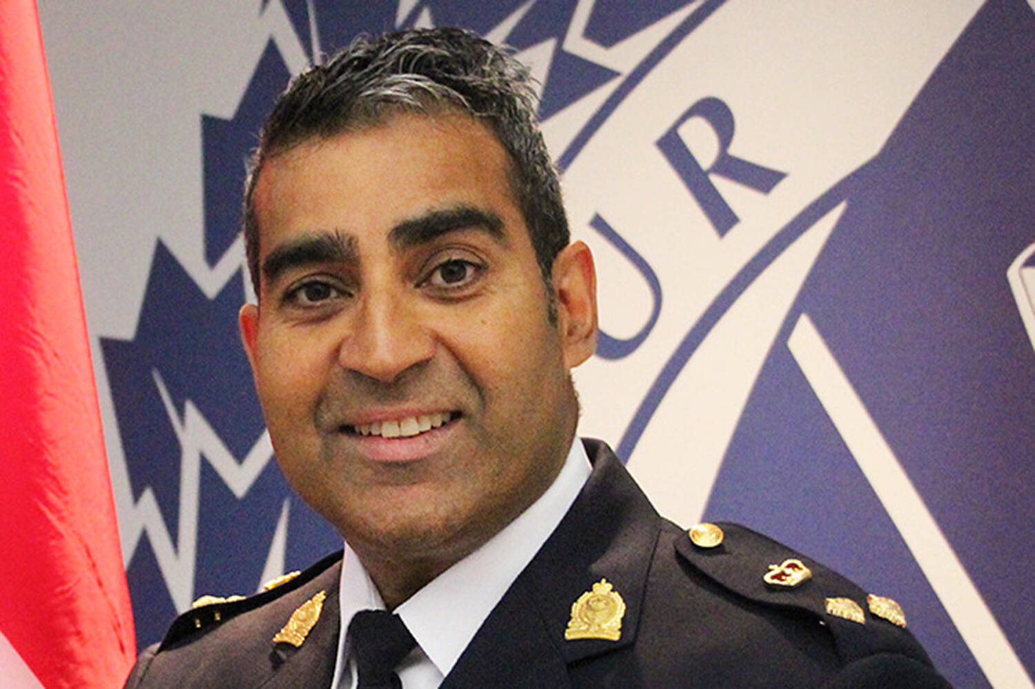 Victoria Police Department (VicPD) Chief Del Manak said he is still processing an incident Saturday afternoon during which a woman poured liquid on him from behind. (Black Press Media file)