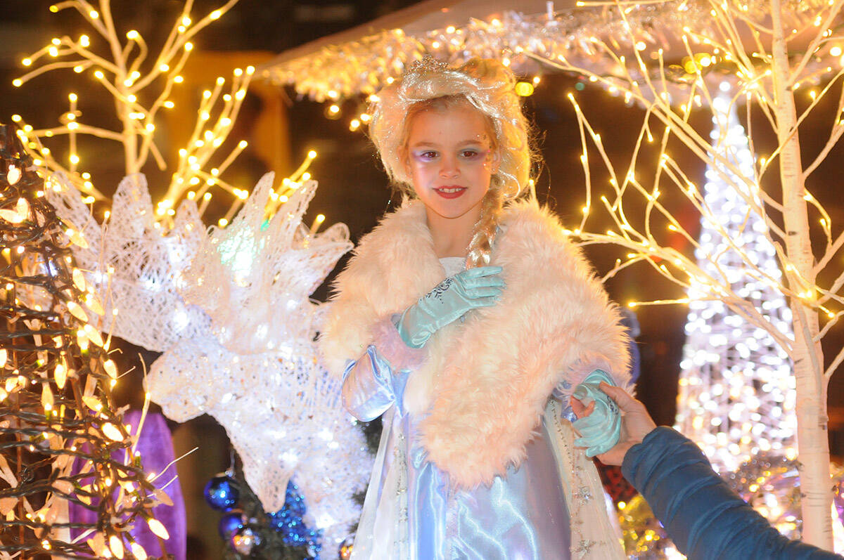 The annual Rotary Christmas Parade last rolled through downtown Chilliwack on Saturday, Dec. 7, 2019. The parade has since been cancelled due to the pandemic in 2020 and in 2021. (Jenna Hauck/ Chilliwack Progress file)