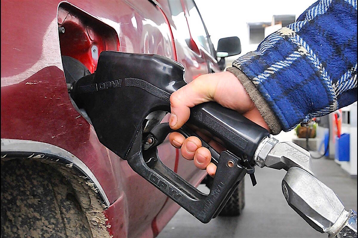 B.C.'s carbon tax is the highest in Canada, and the low-carbon fuel standard is increasing. (Black Press Media)