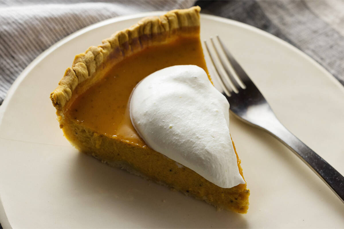 October is the time of year when fruit growers conclude their harvest season. (Black Press file photo) Pumpkin pie is part of the Thanksgiving meal for many Canadians. Do you know which controversial American observance occurs at the same time as Thanksgiving in Canada? (Submitted photo)