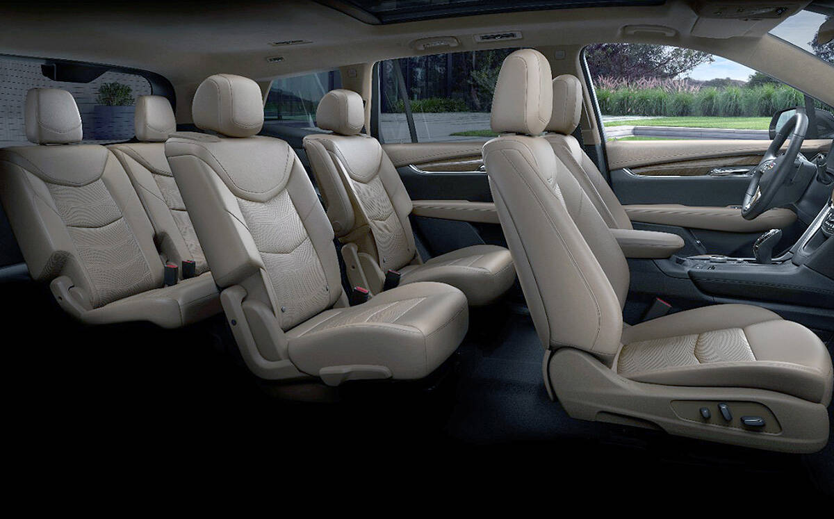 Before the XT6, the only way to get three rows of seats in Cadillac was to buy an Escalade, which is substantially more money. Or, go with the smaller XT5 and settle for two rows of seats. PHOTO: CADILLAC