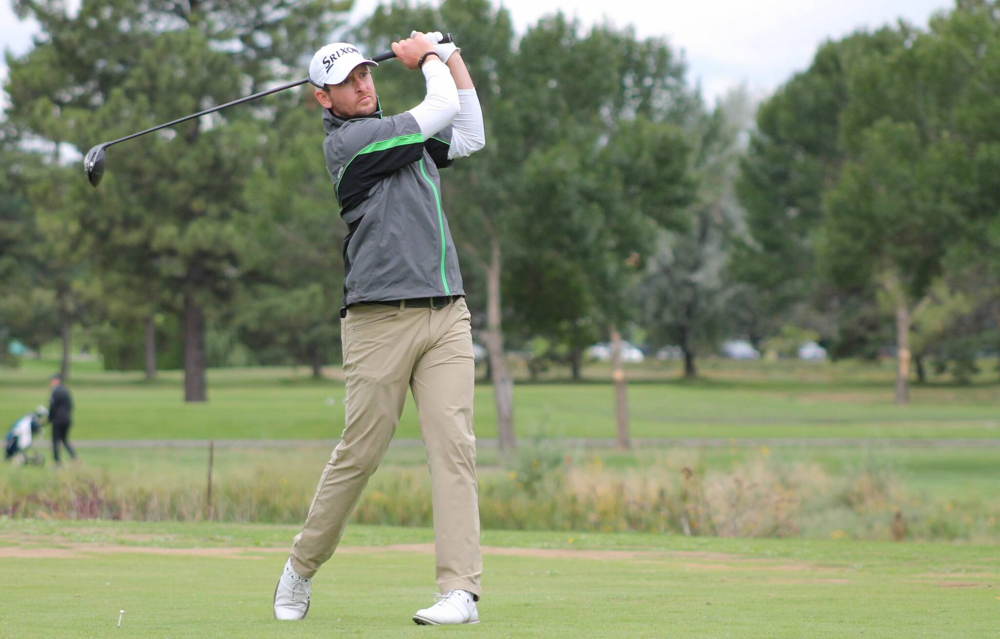 Kevin Stinson golfing in the 2021 PGA of BC Championship. (PGA of BC photo)