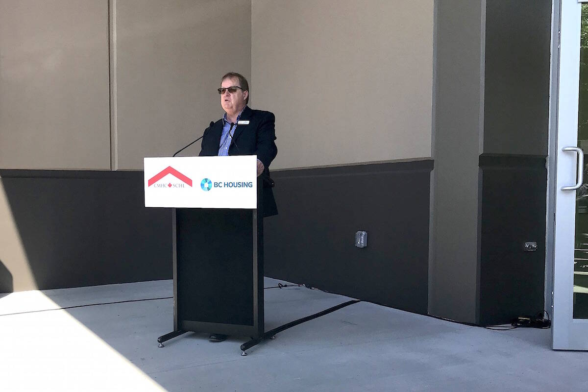 The voice of RAN spokesman Bill Raddatz broke with emotion on May 10, 2019 as he described the huge impact moving into the Family Centre would have on the lives of its low-income tenants. (Jennifer Feinberg/ Chilliwack Progress file)